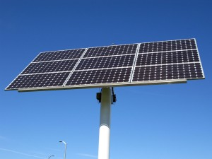 izgradnja sončne elektrarne